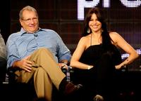 Ed O'Neill and Sofia Vergara at the ABC Network portion of the 2009 Summer Television Critics Association Press Tour.