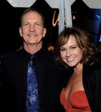 Michael O'Neill and Nikki Deloach at the opening night screening of