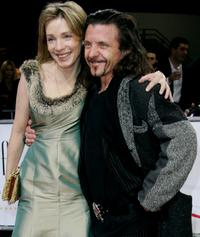 David Bennent and guest Beate at the 20th European Film Awards.