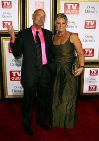 Terry O'Quinn and his wife Laurie at the TV Guide's 5th Annual Emmy Party.