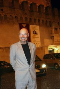 Terry O'Quinn at the Castel Sant'Angelo for the opening day party of the RomaFictionFest.