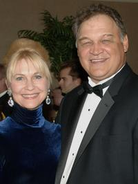 Dee Wallace Stone and Ed O'Ross at the reception for MMPA's 13th Annual Diversity Awards.