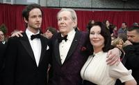 Peter O'Toole, son Lorcan O'Toole and daughter Kate O'Toole at the 79th Academy Awards.
