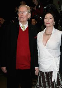 Peter O'Toole and his daughter Kate O'Toole at the Gala Screening of