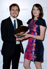 Joe Thomas and Charlotte Ritchie at the South Bank Sky Arts Awards in London.