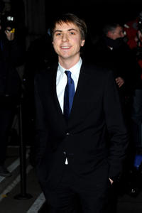 Joe Thomas at the London Evening Standard British Film Awards 2012 in England.