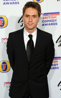 Joe Thomas at the British Comedy Awards 2011 in London.