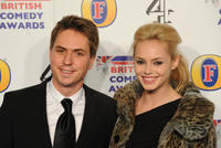 Joe Thomas and Hannah Tointon at the British Comedy Awards 2011 in London.