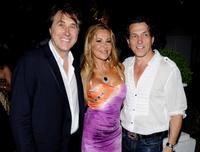 Bryan Ferry, Ana Obregon and Stephen Webster at the Stephen Webster Jewelry first anniversary party.