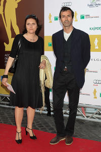 Francesca Cima and Andrea Occhipinti at the 2011 Premi David di Donatello Italian Academy Awards in Italy.