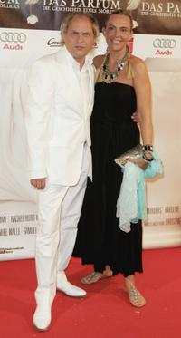 Uwe Ochsenknecht and Natascha Ochsenknecht at the world premiere of