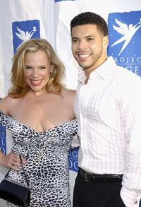 Devon Odessa and Wilson Cruz at the Project Angel Food's 11th Annual Angel Awards Gala.