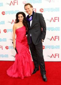 Claudia Ohana and Guest at the AFI Lifetime Achievement Award: A Tribute to Michael Douglas.