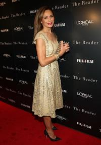 Lena Olin at the premiere of