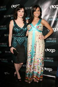 Jill Bennett and Bridget McManus at the 2008 NewNowNext Awards.