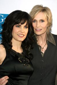 Jill Bennett and Jane Lynch at the Women's Night 2008.