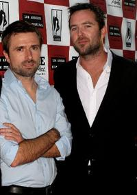 David Michod and Sullivan Stapleton at the premiere of