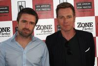 David Michod and Ewan McGregor at the premiere of