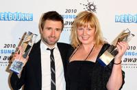 David Michod and Liz Watts at the 2010 Samsung Mobile AFI Awards.