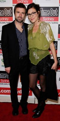 David Michod and Mirrah Foulkes at the premiere of