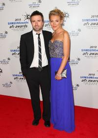 David Michod and Mirrah Foulkes at the 2010 Samsung Mobile AFI Awards.