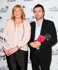 David Michod and Liz Watts at the 2010 Samsung Mobile AFI Industry Awards.