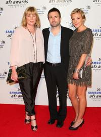 Liz Watts, David Michod and Mirrah Foulkes at the 2010 Samsung Mobile AFI Industry Awards.