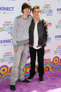 Remy Thorne and Guest at the Variety's 4th Annual Power Of Youth Event in California.