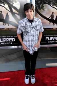 Braeden Lemasters at the premiere of
