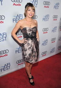 Mary Elizabeth Ellis at the 2008 AFI Fest.