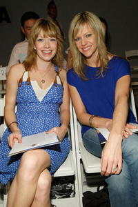Mary Elizabeth Ellis and Kaitlin Olson at the Falguni & Shane Peacock Fall 2008 fashion show during the Mercedes-Benz Fashion Week.