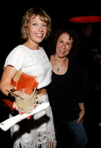 Mary Elizabeth Ellis and Rhea Perlman at the Season 4 DVD launch party of