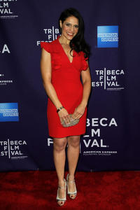 Monique Gabriela Curnen at the New York premiere of