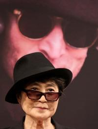 Yoko Ono at the