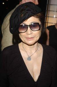 Yoko Ono at the New York Restoration Project and The First Boathouse on the Harlem River celebration.