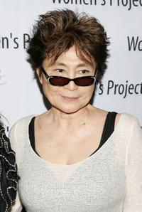 Yoko Ono at the Women's Projects 2007 Women of Achievement Gala.