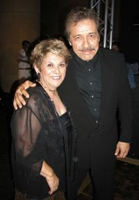 Lupe Ontiveros and Edward James Olmos at the after-party for The 7th Annual Los Angeles Latino International Film Festival.