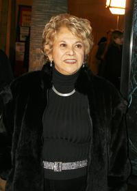 Lupe Ontiveros at the special screening of