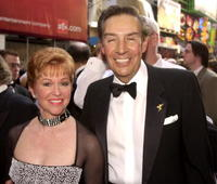 Jerry Orbach and his friend at the opening of the play