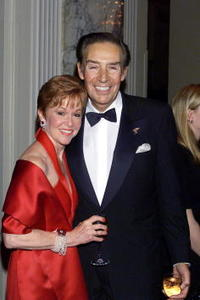 Jerry Orbach and his wife Elaine at the American Theatre Wing Gala.