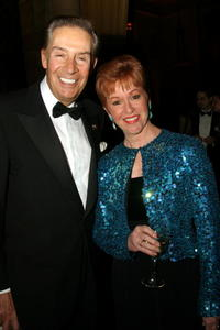 Jerry Orbach and his wife at the Actor's Fund Annual Gala Dinner and Tribute.