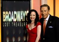 Jerry Orbach and Bebe Neuwirth at the filming segments for