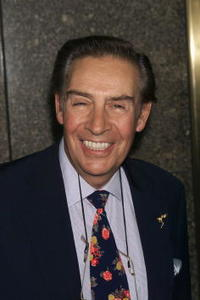Jerry Orbach at the NBC upfront at Radio City Music Hall in New York City.