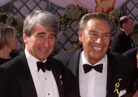 Jerry Orbach and Sam Waterston at the 52nd Annual Primetime Emmy Awards.