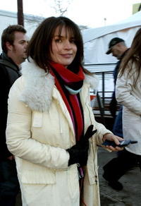 Julia Ormond at the 2004 Sundance Film Festival