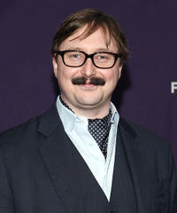 John Hodgman at the New York premiere of