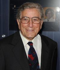Tony Bennett at the Announcement of a $20 million gift to establish the Iris Cantor Men's Health Center.