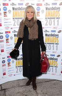 Tracie Bennett at the Whatsonstage.com Awards Concert Launch party 2010 in London.