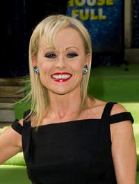 Tracie Bennett at the press night for Shrek The Musical in London.