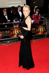 Tracie Bennett at the Olivier Awards 2011 in London.